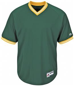 c05af98d Majestic Youth Cool Base V-Neck Baseball Jersey CO - Closeout Sale -  Baseball Equipment & Gear