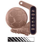 "Hasty Awards 2.25"" Prime Soccer Medals"