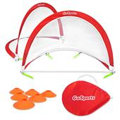 GoSports 4' Portable Pop-Up Soccer Goals (Set/2)