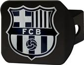 Fan Mats MLS FC Barcelona Black Hitch Cover