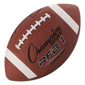 Champion Sports Official Size Rubber Footballs