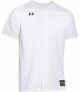 b4a07e991 Under Armour Button Rundown Baseball Jerseys CO - Closeout Sale - Baseball  Equipment   Gear