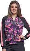 Cherokee Infinity Womens Zip Front Jacket