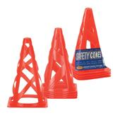 "Markwort 9"" Safety Cones - Set of 4"