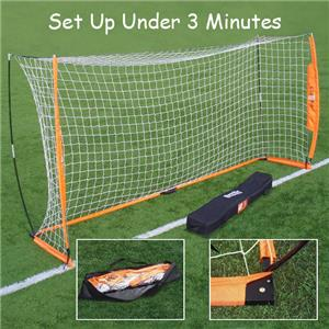 822dcc555 Bownet 6'x12' Portable Soccer Goal - Soccer Equipment and Gear