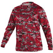 YOUTH Digi Camo Long SLeeve Tech T Shirt