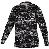 Alleson Adult/Youth Digi Camo LS Tech Tee - C/O