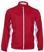 Womens Full Zip Woven Warm Up Jackets - C/O