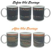 Great Setting College Football Color Change Mug