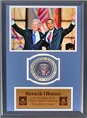 Encore Brandz Obama & Biden Deluxe Frame