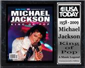 Encore Brandz King Of POP Stat Plaque