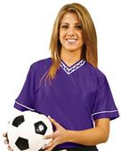 Adult Youth Unisex Nylon Dazzle Soccer Jerseys CO