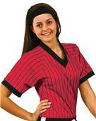 VKM Adult Youth Unisex Pinstripe Soccer Jerseys