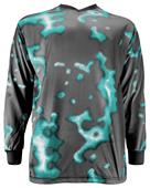 Adult-Youth Sublimated Padded Soccer Goalie Jersey