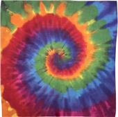 """Colortone 22"""" x 22"""" Tie-Dye Bandanas"""