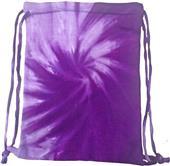 Colortone Cinch Drawstring Sport Tie-Dye Bags