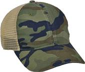 OC Sports Soft Tea-stained Mesh Back Cap