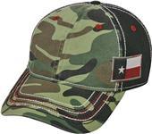 OC Sports Generic Camo Twill Flag Patch Cap