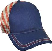 OC Sports Flag Mesh Snap Back Cap