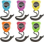 Champion Stopwatch Set of 6 Neon Colors