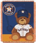 Northwest MLB Houston Field Bear Baby Throw