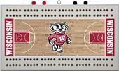 NCAA Wisconsin Badgers Basketball Cribbage board