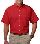 Blue Generation Men's SS Easy Care Poplin Shirts
