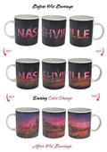 Sunkiss Nashville Skyline ThermoH Exray Mug