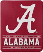 "Northwest NCAA Alabama ""Control"" Fleece Throw"
