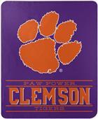 "Northwest NCAA Clemson ""Control"" Fleece Throw"