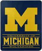 "Northwest NCAA Michigan ""Control"" Fleece Throw"