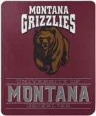 """Northwest NCAA Montana """"Control"""" Fleece Throw"""