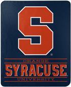 "Northwest NCAA Syracuse ""Control"" Fleece Throw"
