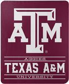 "Northwest NCAA Texas A&M ""Control"" Fleece Throw"