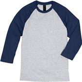 Hanes Mens X-Temp Baseball T-Shirt 42BA