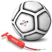 GoSports Elite Match Soccer Ball Size 5 W/Pump