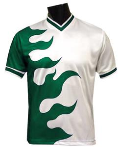 flame soccer jersey