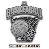 "Hasty Awards 2.5"" ProSport Basketball Medals"