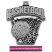 "Hasty Awards 2.5"" ProSport Basketball Medals"