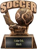 "Hasty Awards ProSport 6"" Soccer Resin Trophies"