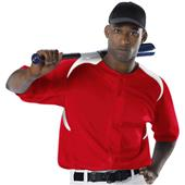 Alleson 527Y Youth Full Button Baseball Jerseys CO