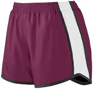 MAROON/ WHITE/ BLACK