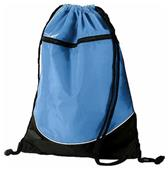 Augusta Sportswear Tri-Color Drawstring Backpack