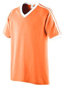 25100501b9a Augusta Shoulder Stripe Youth Custom Soccer Jersey - Soccer Equipment and  Gear