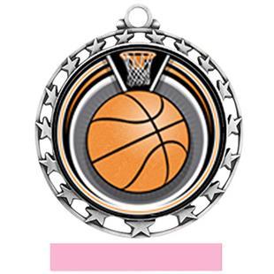Hasty Super Star Medal Custom Basketball Eclipse Insert
