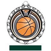Hasty Award Basketball Eclipse Insert Medal M-4401