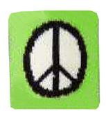 Red Lion Peace Sign Wristbands