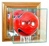 """Perfect Cases """"Soccer"""" Wall Mount Display Cases"""