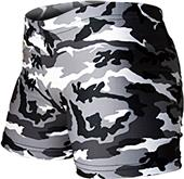 Gem Gear Compression Black Camouflage Shorts