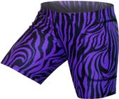 "Gem Gear Purple Zebra Softball Slider 5"" Inseam"